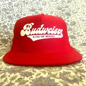 Vintage 90s Budweiser snapback!